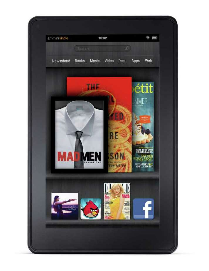 Amazon.com TOUCH-SCREEN: Amazon's Kindle Fire tablet is smaller than an iPad and will sell for $199 when it hits the market in November. / Amazon.com