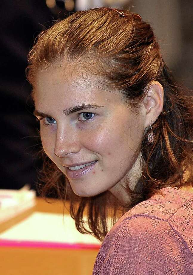 ASSOCIATED PRESS CHANGED: Amanda Knox has been more somber during  her appeal. Photo: Stefano Medici / AP