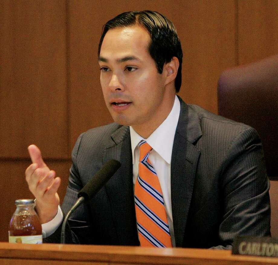 Mayor Julián Castro Photo: Darren Abate/Special To The Express-News
