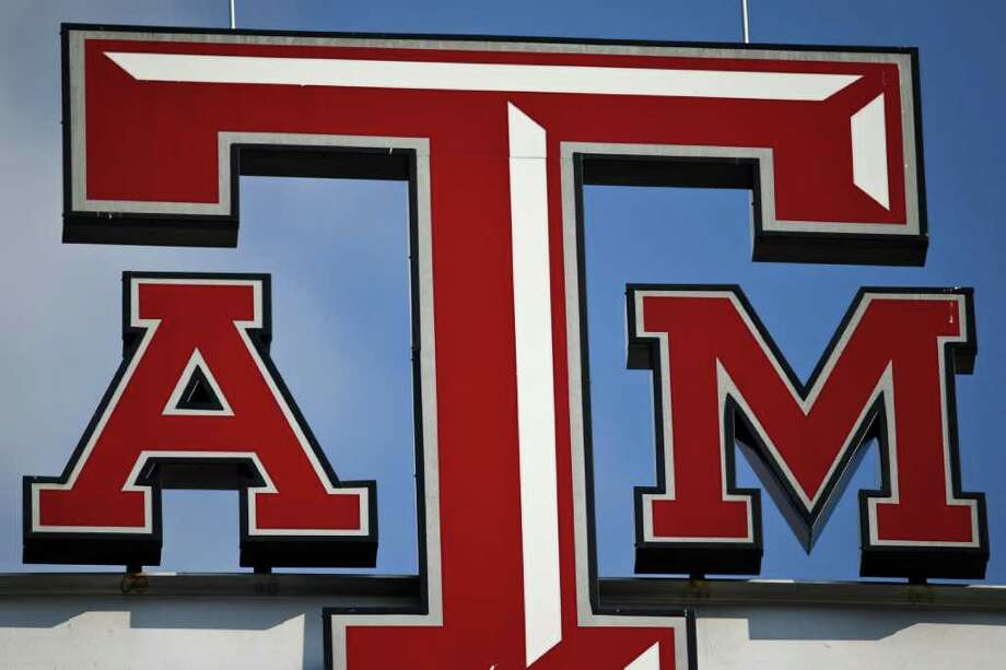The Texas A&M logo above the scoreboard during the Texas A&M vs. Stephen F. Austin NCAA College Football game at Kyle Field Saturday, Sept. 4, 2010, in College Station. Photo: Michael Paulsen, Chronicle / Houston Chronicle