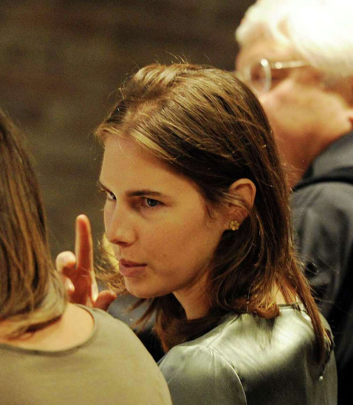 Amanda Knox attends appeal hearing at Perugia's Court of Appeal on Thursday.