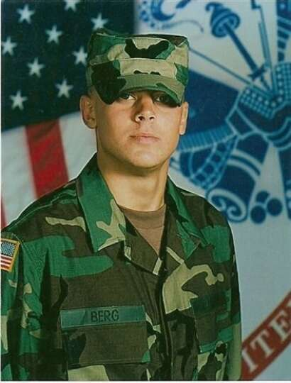 Army Spc. Ryan Berg, 19, of Sabine Pass, died Jan. 9, 2007 when a sniper?s bullet hit him in the sho