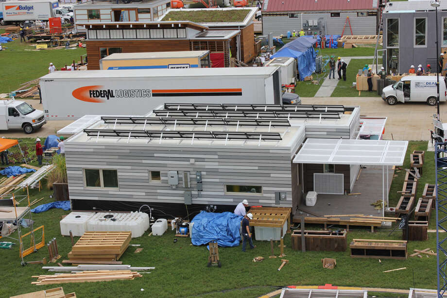 The University of Illinois at Urbana-Champaign team works on Re_home at 