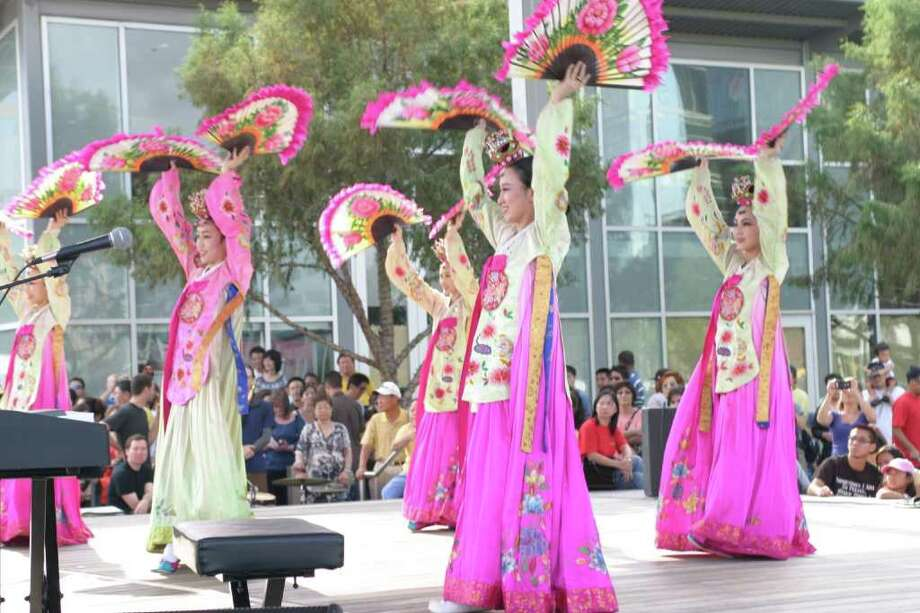 Korean American Society of Houston The 2011 Korean Festival will be held Oct. 22 at Discovery Green. Credit: Korean American Society of Houston Photo: See Caption (won't Fit)