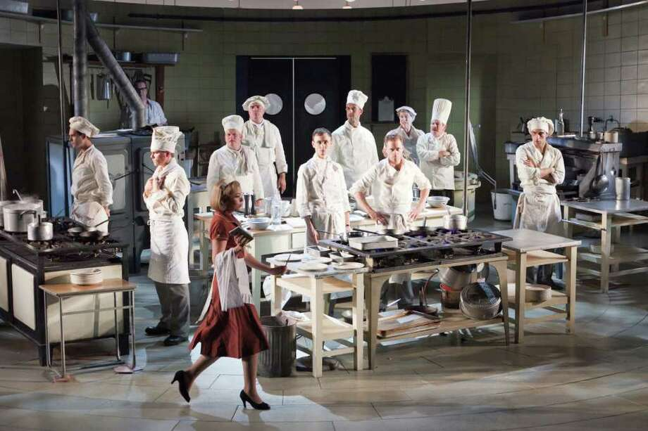 "A performance of ""The Kitchen"" will be broadcast live Thursday, Oct. 6, from London to the Quick Center. Photo: Contributed Photo"