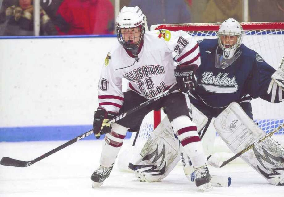 Jason Kalinowski of Stamford, who attends The Salisbury School, has given a verbal commitment to the University of New Hampshire. Photo: Contributed Photo