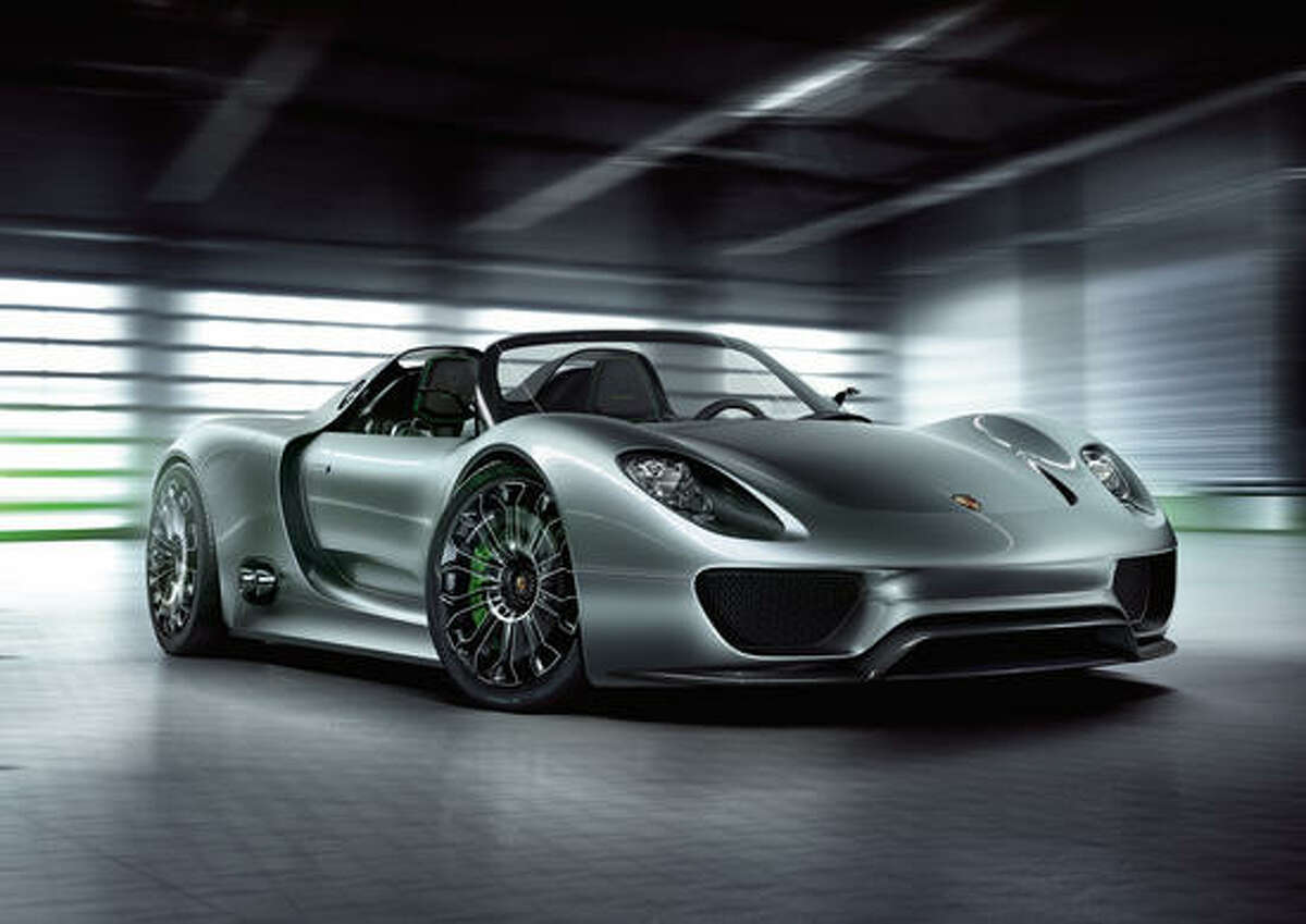 No. 10: Porsche 918 Spyder plug-in Where should we begin with this car? It's amazing, and it's a hybrid. However, the $845,000 price tag makes it a dream for most of us. Porsche is also only making 918 of these too so it will be tough to get.