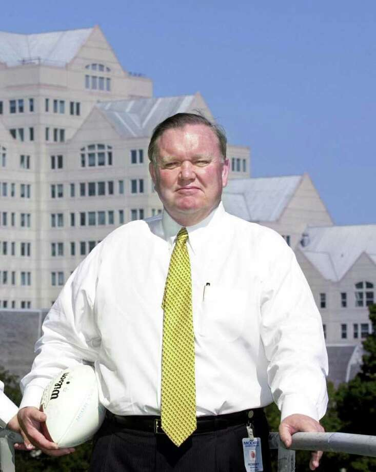 Greenwich resident Robert Burton in 2001. Burton says he would support a move by UConn to the Atlantic Coast Conference despite the school being a charter member of its current league. Photo: File Photo, ST / Stamford Advocate File Photo