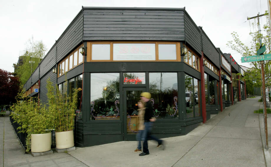 The future of B&O Espresso, one of Seattle's oldest coffee shops, is uncertain with a project to develop a six-story, mixed-use building. The project has been appealed. Photo by Dan DeLong/Seattlepi.com archive.
