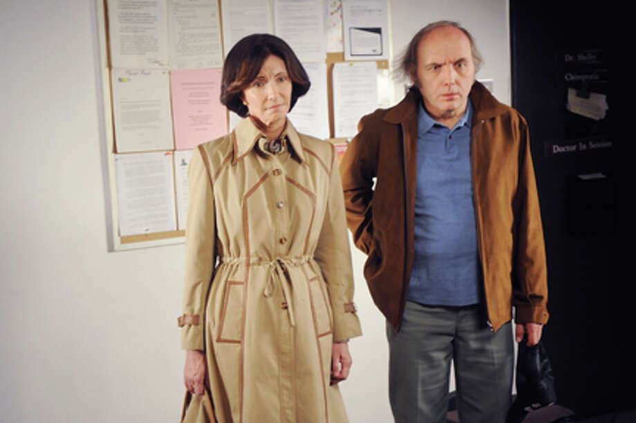 "Mary Steenburgen as Peggy and Dwight Yoakam as Joseph in ""Dirty Girl."" Photo: David Moir / © 2011 THE WEINSTEIN COMPANY.  ALL RIGHTS RESERVED"