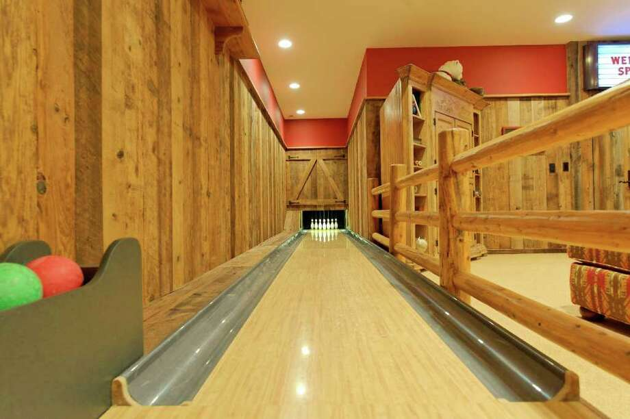 Hawes included a bowling alley in his designs for the field house. Photo: Contributed Photo