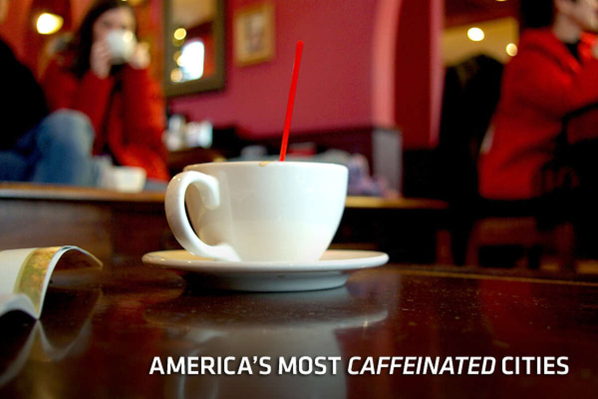 The United States is just twelfth worldwide when it comes to caffeine consumption. At an average of 3 kilograms (106 ounces) of coffee per person per year, Americans are well behind world leader Norway at 10.7 kilograms, or nearly three gallons, per person. Still, Americans consider themselves to be a pretty caffeinated culture. Certainly the growth of coffee shops around the country are a testament to how much we love our caffeine. Here, we take a look at some of the top buzz hubs as reported by market research company NPD Group. Looking at the number of coffee shops per capita, they've put together a list of the most caffeinated cities in America.Also popular on CNBC.com: America's Fastest Growing Coffee Chains 24 Karat Cuisine Amazing Things Made of Chocolate