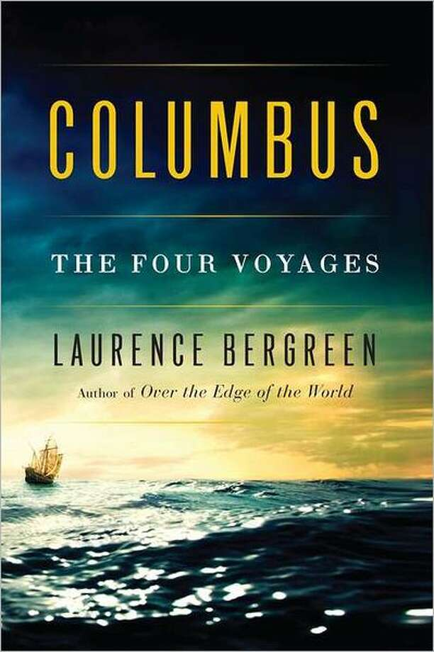 """Book cover for """"Columbus: the Four Voyages,"""" by Laurence Bergreen Photo: Xx"""