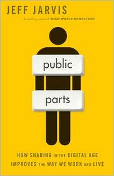 Book cover for Public Parts, by Jeff Jarvis Photo: Xx