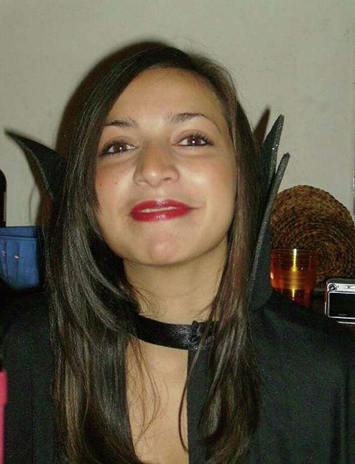 ASSOCIATED PRESS FILE MISSED:  Meredith Kercher was a vampire on her last Halloween. She was slain in 2007 in Italy. Photo: Anonymous / POLICE