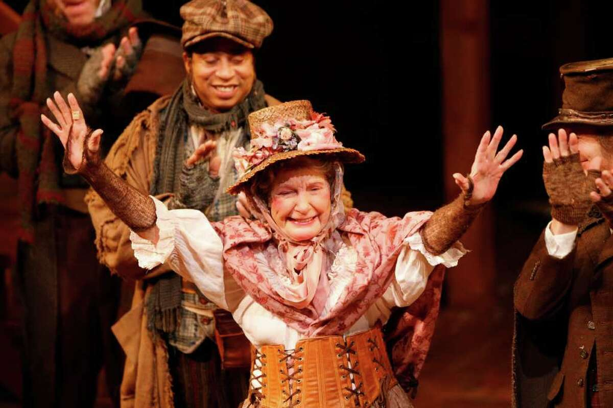 Colleagues joined the audience in cheering at Fitzpatrick's final curtain call in December 2009.