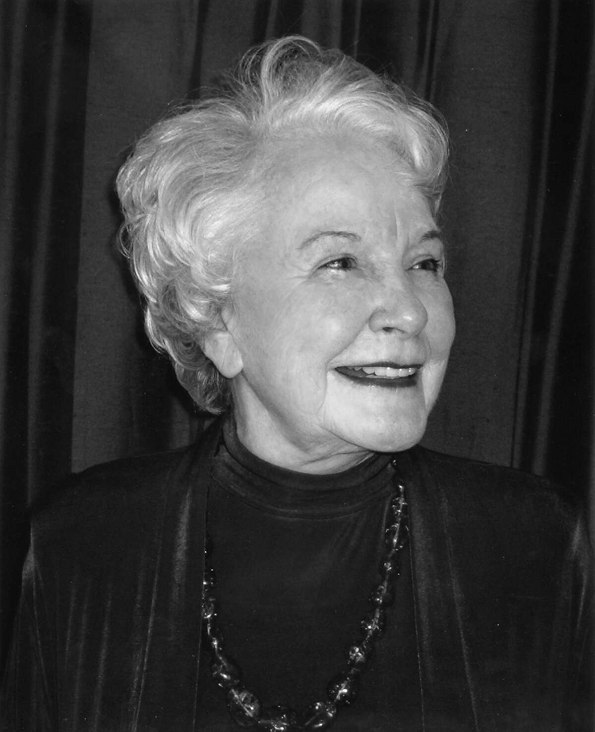 Bettye Fitzpatrick became synonymous with the Alley Theatre in more than 50 years of distinguished work as a company member.