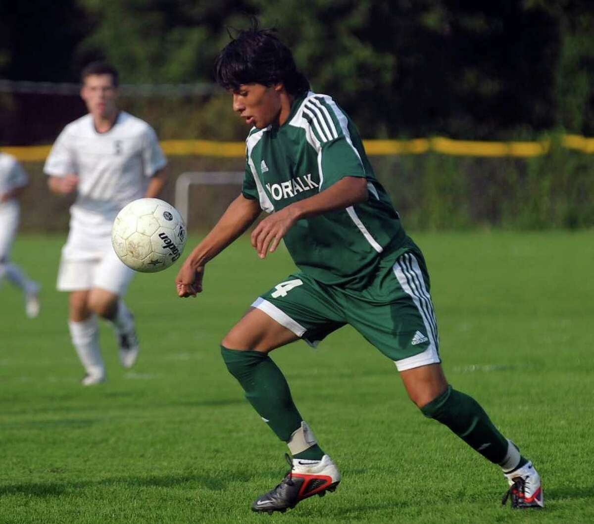 Highlights from boys soccer action between Staples and Norwalk in Westport, Conn. on Friday September 30, 2011.