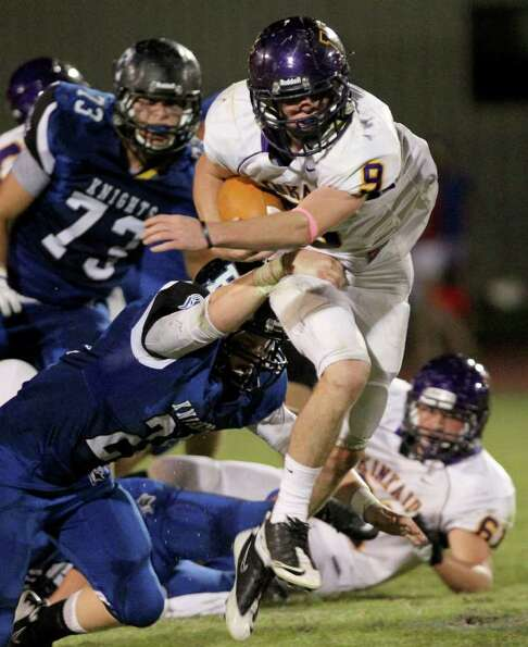 Kinkaid 62, Episcopal 28. Running back Sam Eggleston of the