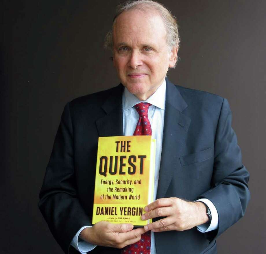 "Kevin G. Hall : McClatchy-Tribune DANIEL YERGIN: ""I think in the pages of this book there are a lot of obsessive individuals who make things happen, who have a real power to just keep at it."" Photo: Kevin G. Hall / MCT"