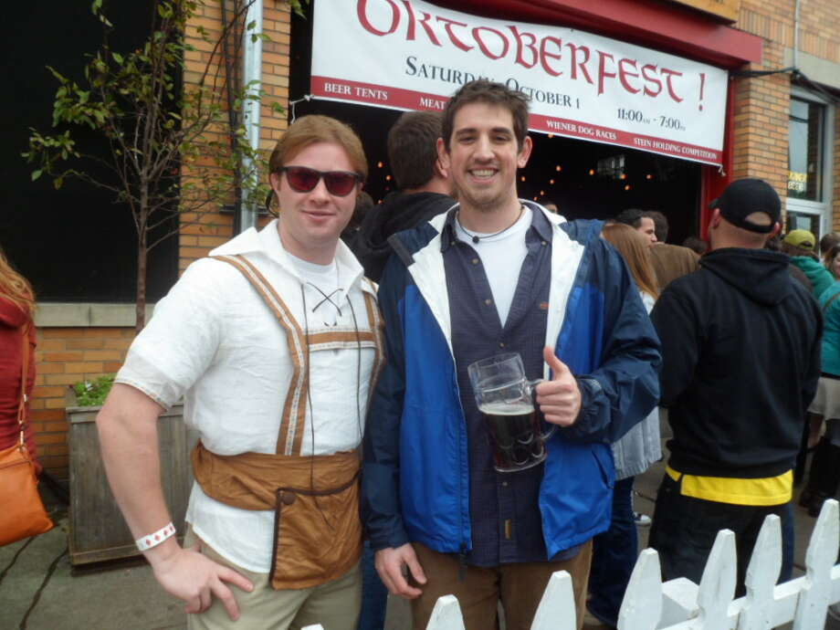 Were you Seen at Oktoberfest at Wolff's Biergarten on Saturday, Oct. 1, 2011? Photo: Leann Hlebica / COPYRIGHT, 2011