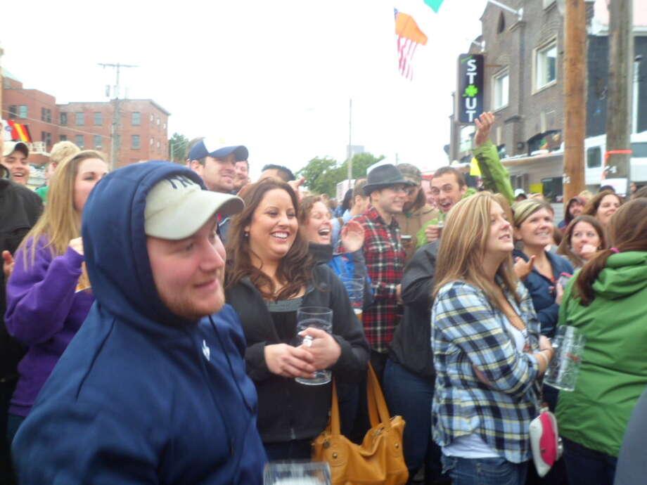 Were you Seen at Oktoberfest at Wolff's Biergarten on Saturday, Oct. 1, 2011? Photo: Leann Hlebica / COPYRIGHT, 2011