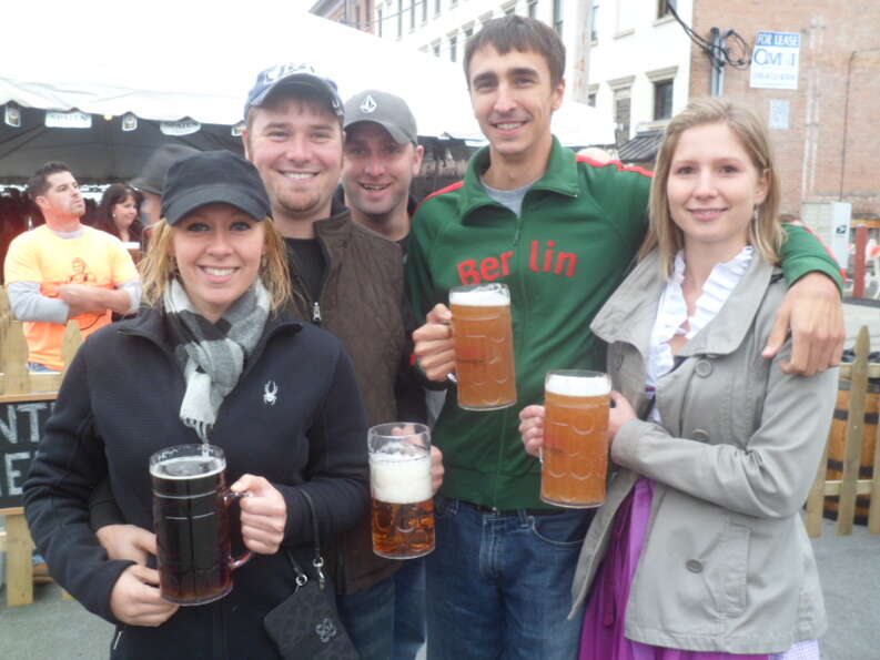 Were you Seen at Oktoberfest at Wolff's Biergarten on Saturday, Oct. 1, 2011?