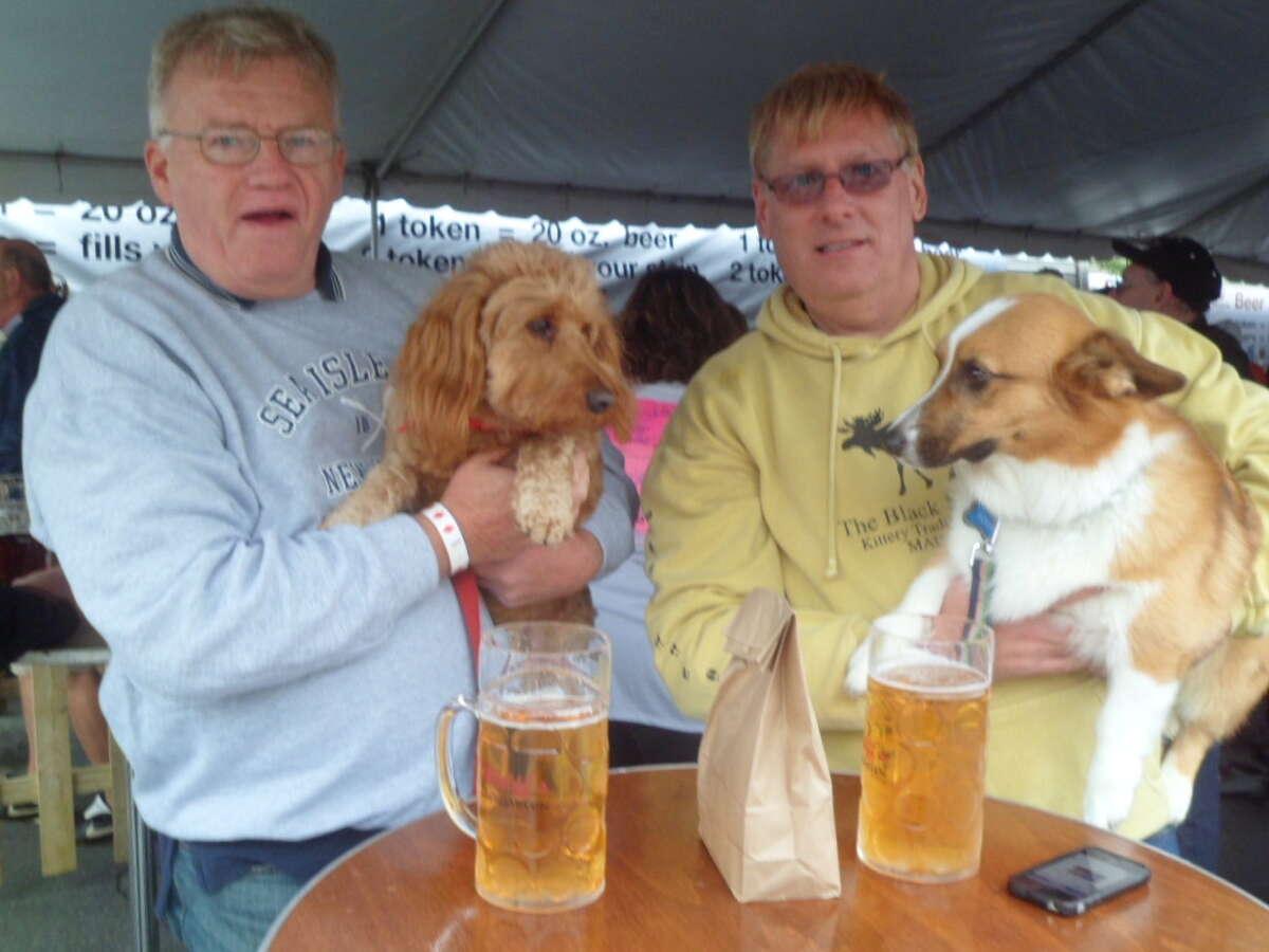 Were you Seen at Oktoberfest at Wolff's Biergarten on Saturday, Oct. 1, 2011?