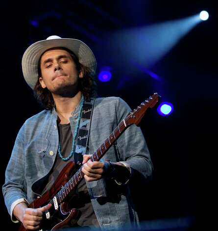 John Mayer performs during Tiger Jam April 30, 2011 in Las Vegas. Mayer recently donated $15,000 from his Back To You Fund to the Stamford CARES program. (AP Photo/Julie Jacobson) Photo: Julie Jacobson, ST / AP
