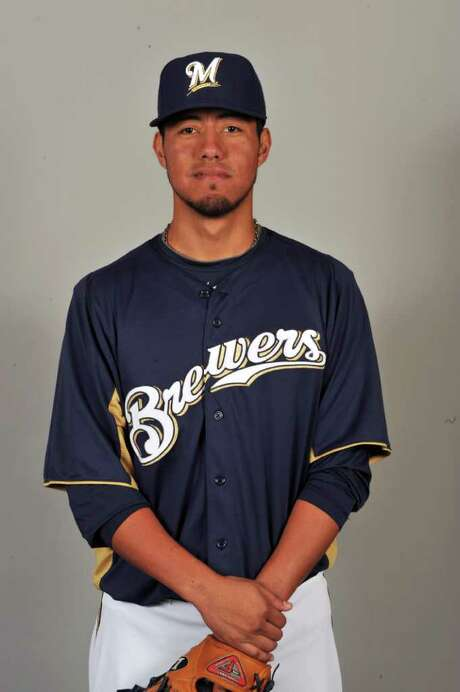 MARYVALE, AZ - FEBRUARY 24:  Yovani Gallardo of the Milwaukee Brewers poses during Photo Day on Thursday, February 24, 2011 at Maryvale Baseball Park in Maryvale, Arizona.  (Photo by Robert Binder/MLB Photos via Getty Images) *** Local Caption *** Photo: Robert Binder / 2011 MLB Photos