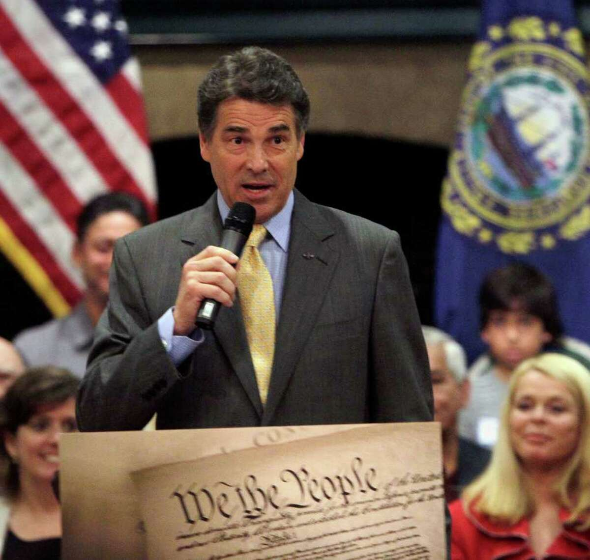 JIM COLE : ASSOCIATED PRESS HIS SIDE: Gov. Rick Perry said his father
