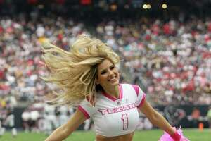 The problem with the pink products on sale at tonight's Texans game - Photo