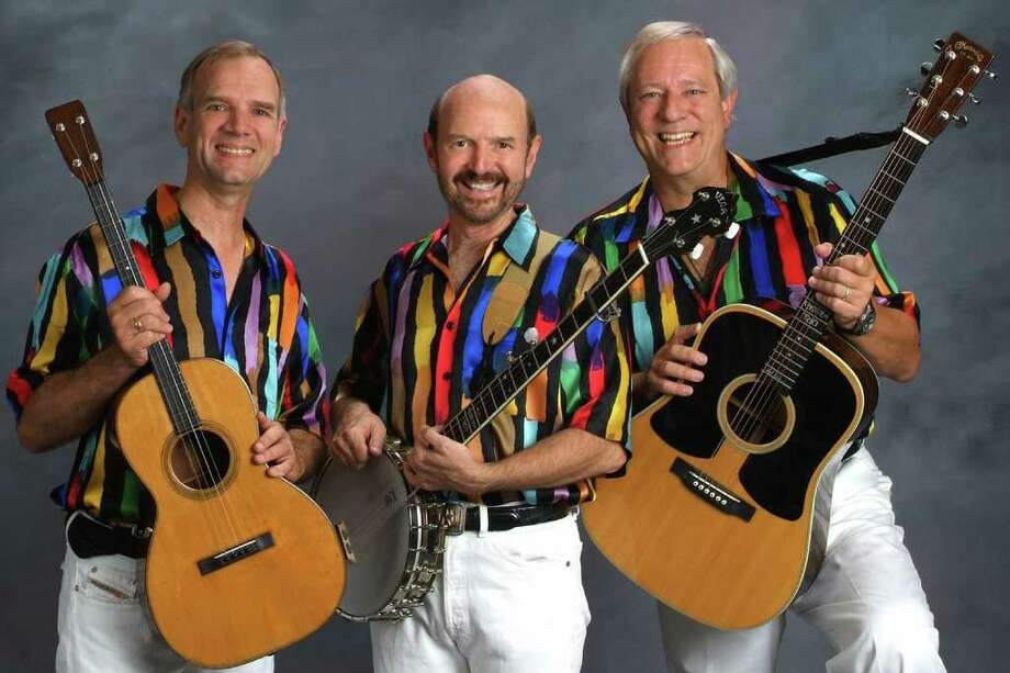 The Kingston Trio comes to Bridgeport Oct. 15-16 for three performances at the Downtown Cabaret Theatre. Photo: Contributed Photo