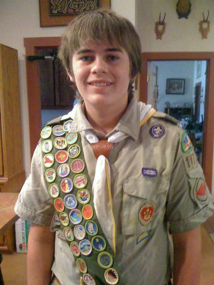 In the last four years, Kenny Standridge has placed in the top five Boy Scout popcorn sellers in the nation. COURTESY DEB HONEYCUTT Photo: Photo Courtesy Deb Honeycutt