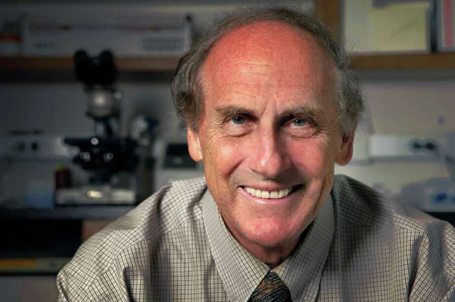 Immunologist Ralph Steinman, M.D., won the 2011 Nobel Prize in Physiology or Medicine for his work on cancer research.  Photo: Handout / 2011 Rockefeller University