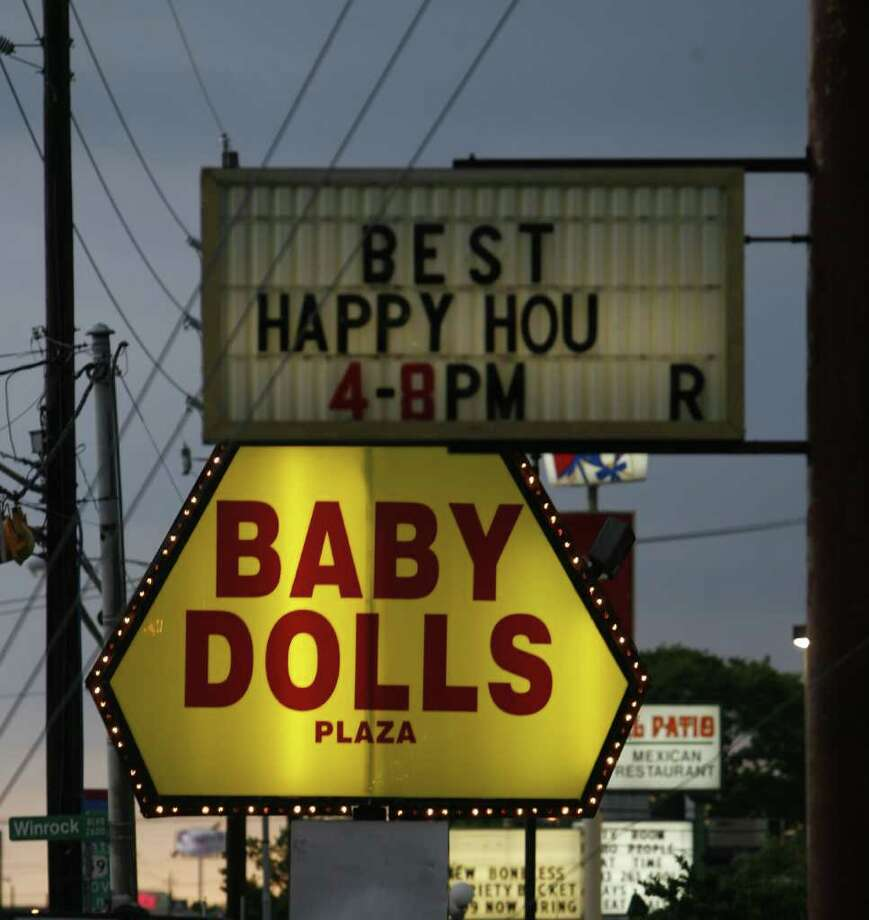 BILLY SMITH II : CHRONICLE MONEY: Baby Dolls was to be managed by James Cabella, aka Vincent Palermo. Lisa Hansegard, whose infant son inherited the club, is suing Cabella for $1.29 million. Photo: Billy Smith II / Houston Chronicle