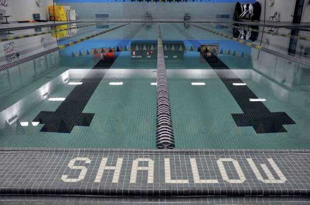 westhill 39 s swim team in shallow water stamfordadvocate