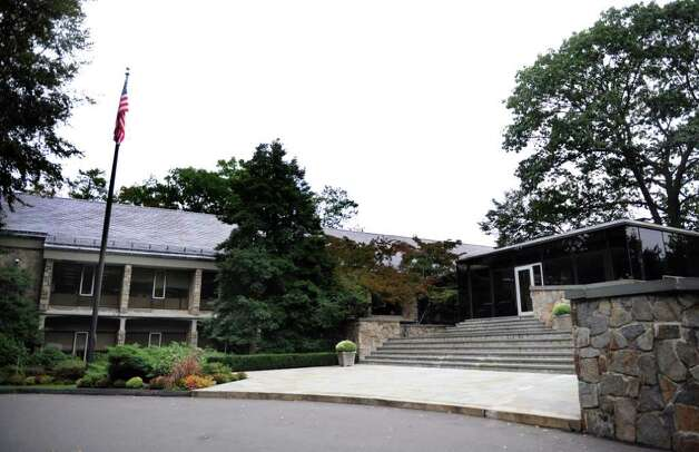 Hedge fund giant Bridgewater Associates' offices in Westport, Conn. Photo: Autumn Driscoll
