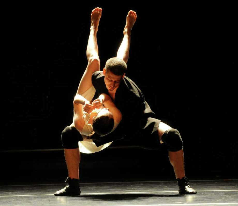 Koresh Dance Company will perform at the Quick Center Friday, Oct. 14. Photo: Contributed Photo