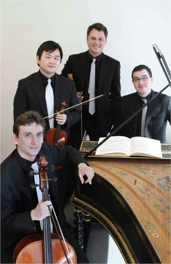 The Sebastian Ensemble will perform at Pequot Library Sunday, Oct. 9. Photo: Contributed Photo