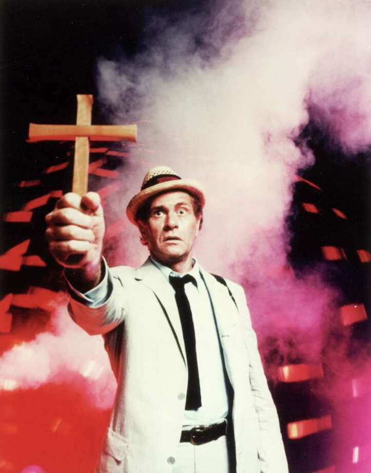 "Darren McGavin tries to fight off evil in ""Kolchak: The Night Stalker."" UNIVERSAL STUDIOS Photo: Universal Pictures, Getty Images / Hulton Archive"