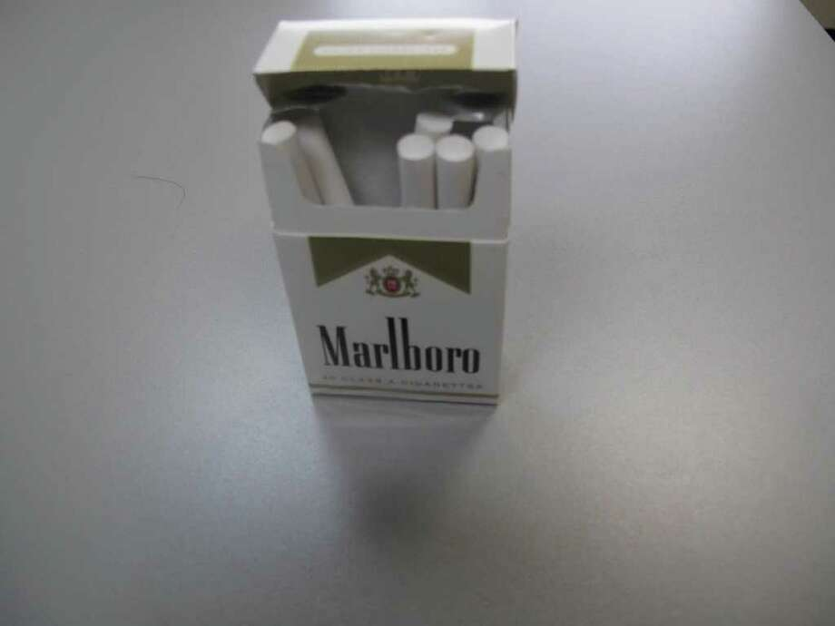 Connecticut needs to make sure at least 80 percent of its tobacco sellers do not sell cigarettes like this to minors otherwise the state loses funding. Photo: Paresh Jha