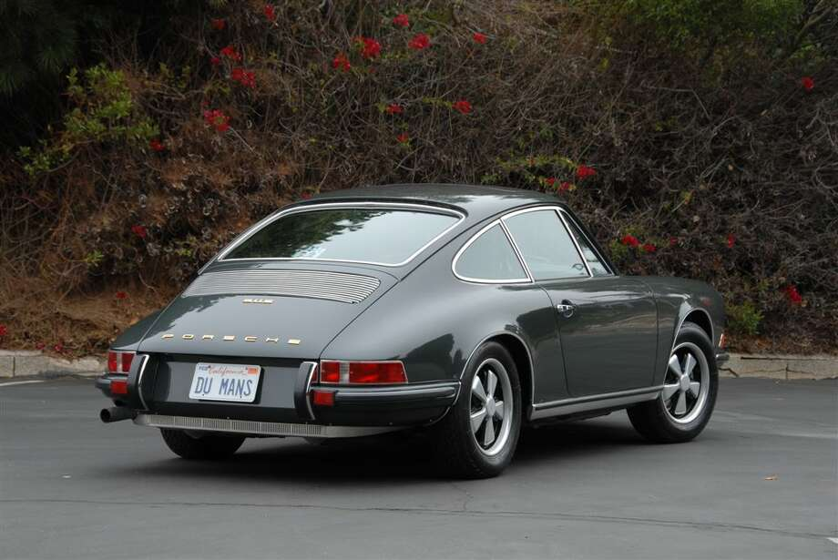 Steve McQueen's 1970 Porsche 911S sold for $1.25 million. Photo: Flickr Commons/Ma-Eh
