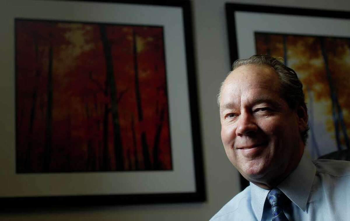 Jim Crane, who has entered into an exclusive agreement to purchase the Houston Astros baseball club for a reported $680 million, photographed in his office, Thursday, Sept. 8, 2011, in Houston. ( Karen Warren / Houston Chronicle )