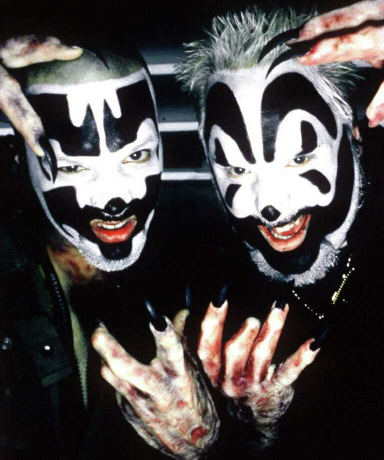 Houston's juggalo community wants the Insane Clown Posse. Photo: JOSEPH CULTICE / ISLAND RECORDS