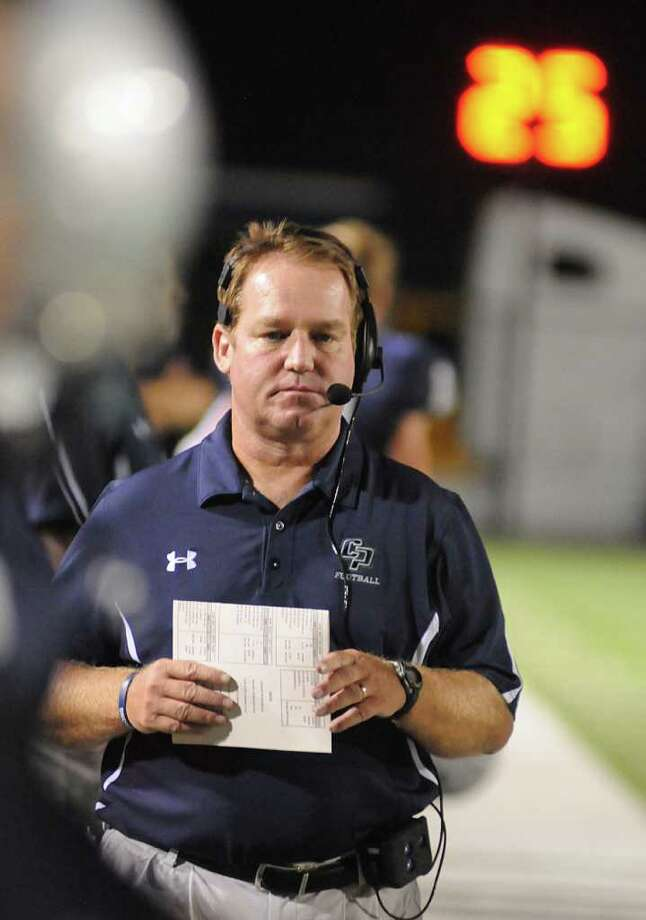 College Park coach Richard Carson Photo: David Hopper / freelance