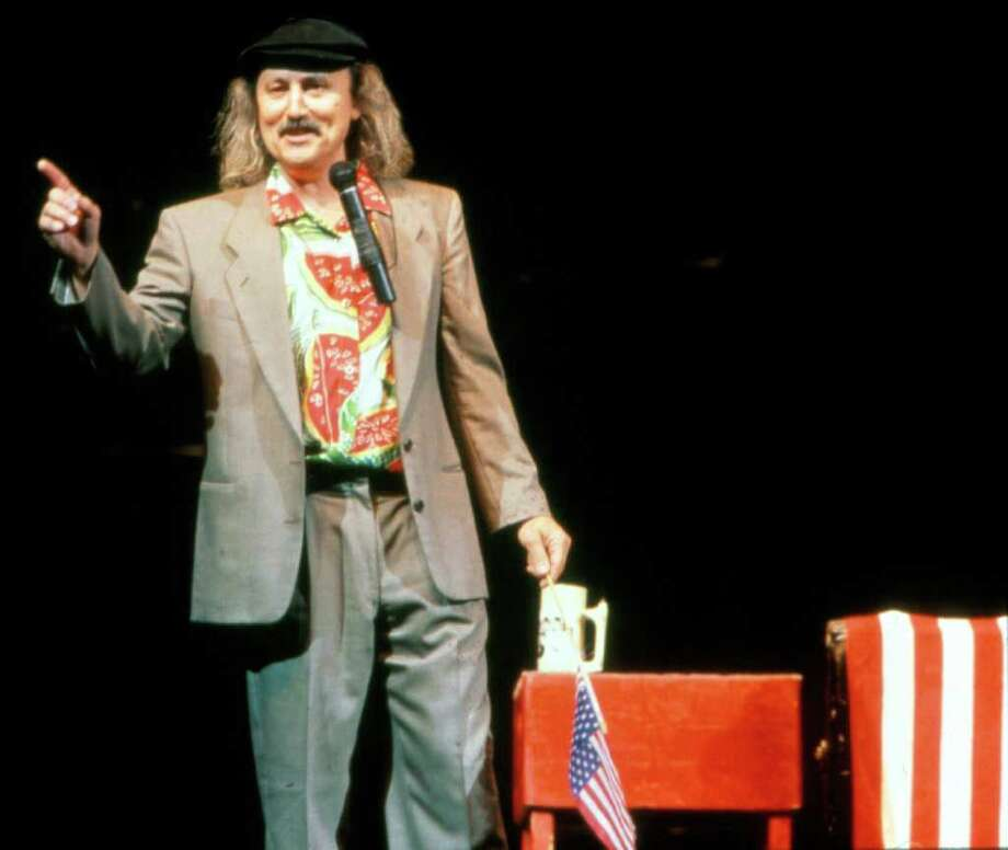 Comic legend Gallagher will smash his way into Connecticut with a string of dates at Treehouse Comedy Clubs in Stamford, Stratford and Uncasville. Photo: Contributed Photo