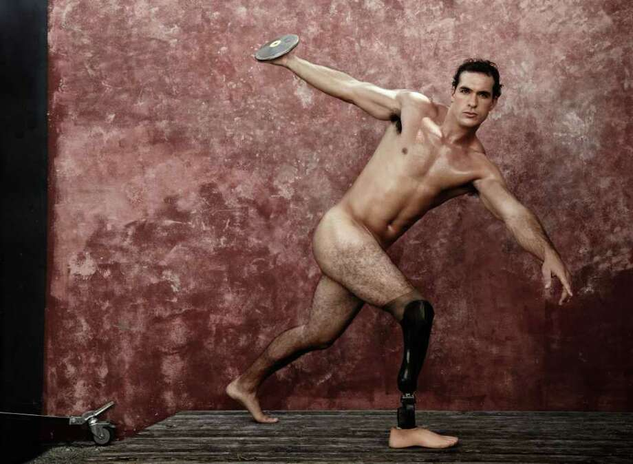 Paralympic athlete Jeffrey Campbell poses for ESPN. Photo: Courtesy ESPN