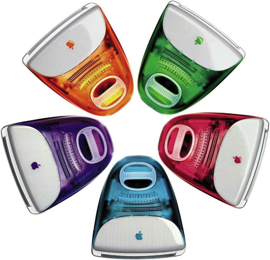 "The iMac became even more popular when it was released in a range of colors with the tagline ""iCandy."" Photo: Getty Images / Getty Images North America"