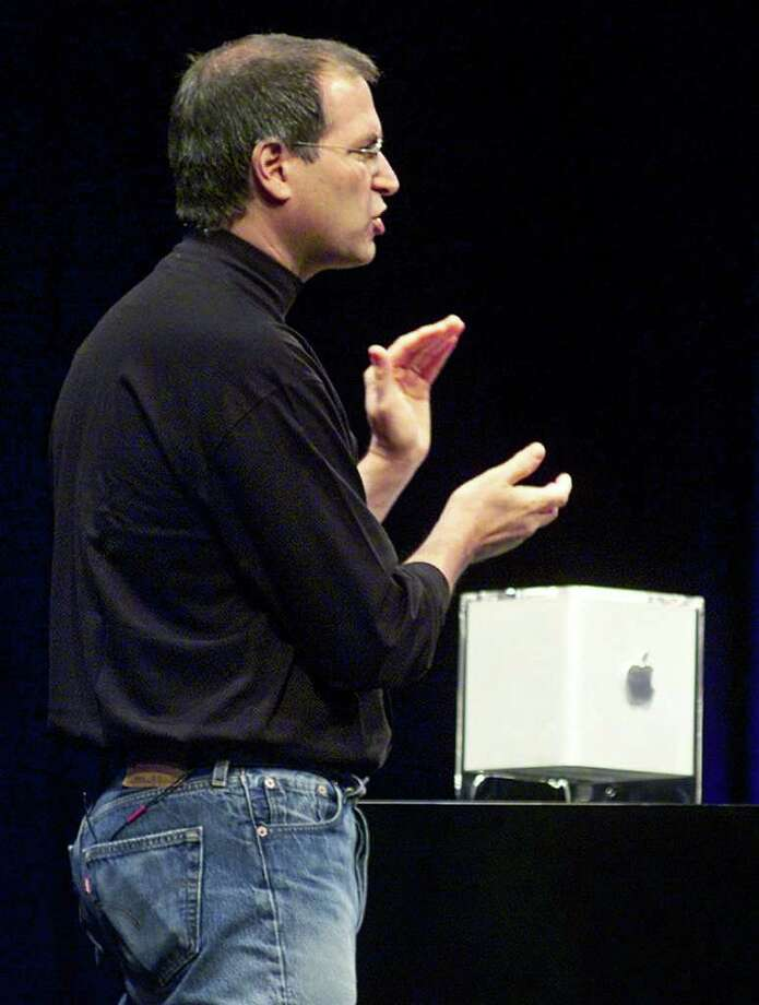 Power Mac G4 Cube (2000): Although the Cube's striking design was widely praised, its high price tag kept it from becoming commercially successful and it was discontinued a year later. The Cube lives on in an exhibit at the Museum of Modern Art in New York City. Photo: RICHARD DREW, ASSOCIATED PRESS / AP2000